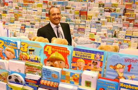 Editorial picture of Don Lewin, Chairman of Clinton Cards pictured in one of their outlets, London, Britain - 18 Oct 2004