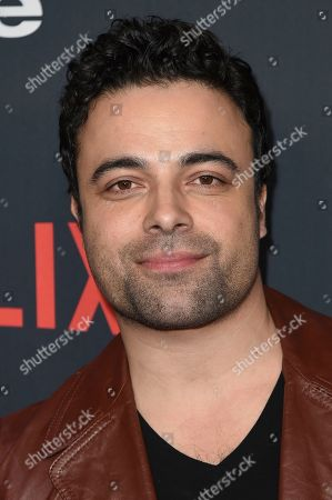 "James Martinez attends the Los Angeles premiere of ""One Day at a Time"" Season 2 at ArcLight Hollywood, in Los Angeles"