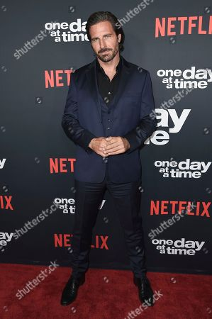 """Ed Quinn attends the Los Angeles premiere of """"One Day at a Time"""" Season 2 at ArcLight Hollywood, in Los Angeles"""
