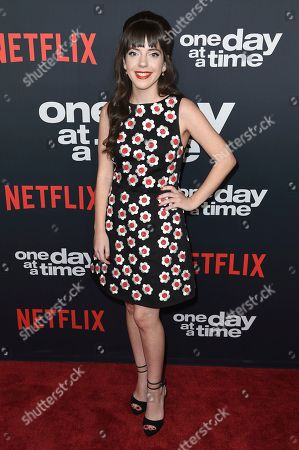 "Sheridan Pierce attends the Los Angeles premiere of ""One Day at a Time"" Season 2 at ArcLight Hollywood, in Los Angeles"