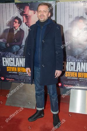 Editorial image of 'England is Mine' film premiere, France - 23 Jan 2018
