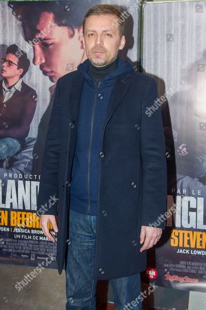 Editorial photo of 'England is Mine' film premiere, France - 23 Jan 2018