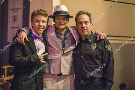 Justin Ellings, Corey Feldman, Jamison Newlander