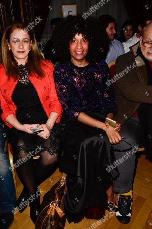 Editorial picture of Ziad Nakad show, Front Row, Spring Summer 2018, Haute Couture Fashion Week, Paris, France - 24 Jan 2018