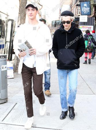 Troye Sivan and Jacob Bixenman