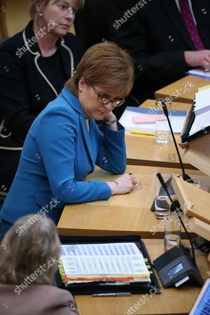 Scottish Parliament First Minister's Questions - Shona Robison, Cabinet Secretary for Health, Wellbeing and Sport, and Nicola Sturgeon, First Minister of Scotland and Leader of the Scottish National Party (SNP)