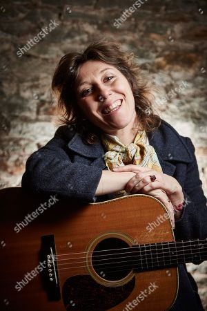 Bristol United Kingdom - January 25: Portrait Of Canadian-american Musician Martha Wainwright Photographed Before A Live Performance At St George's Church In Bristol On January 25