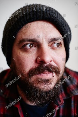 London United Kingdom - March 31: Portrait Of South African Musician Shaun Morgan Guitarist And Vocalist With Grunge Rock Group Seether Photographed In London On March 31