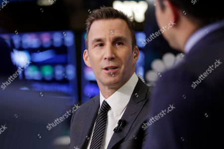 Equinox Executive Chairman Harvey Spevak is interviewed on the floor of the New York Stock Exchange
