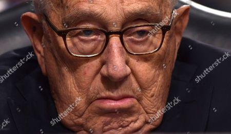 Editorial picture of Kissinger Shultz, Washington, USA - 25 Jan 2018