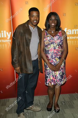 Russell Hornsby and Nicki Micheaux