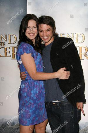 Bridget Regan and Craig Horner