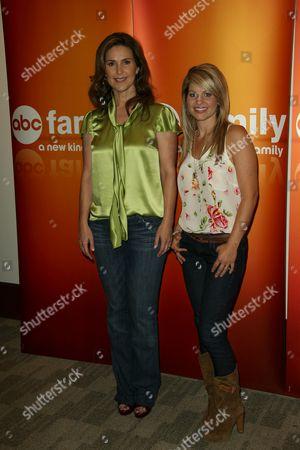 Stock Photo of Peri Gilpin and Candice Cameron Bure