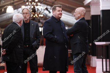 James Corden, Neil Portnow, Ken Ehrlich and Jack Sussman
