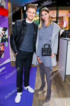 Stock Picture of Joern Schloenvoigt and Ann-Kathrin Broemmel