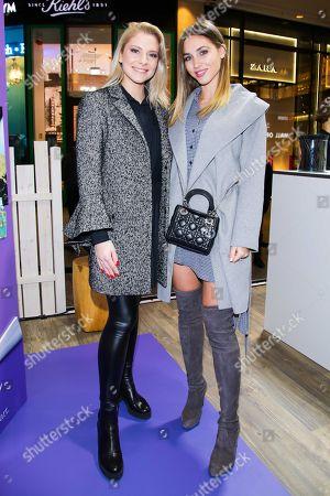 Valentina Pahde and Ann-Kathrin Broemmel