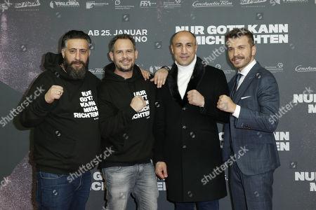 Stock Picture of Kida Khodr Ramadan, Moritz Bleibtreu, Arthur Abraham, Edin Hasanovic