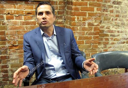 GREG ORMAN. Kansas City-area businessman Greg Orman discusses his run for Kansas governor as an independent candidate during an interview, in Topeka, Kan. Orman is a key figure in a movement seeking to support independent candidates and increase their numbers in states as a challenge to the Republican and Democratic parties