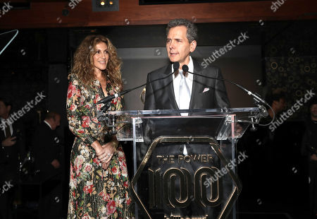 Stock Image of Atlantic Records Chairman/COO Julie Greenwald and Atlantic Records Chairman/CEO Craig Kallman