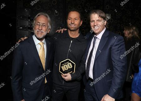 Neil Portnow, Michael Rapino and Todd Boehly