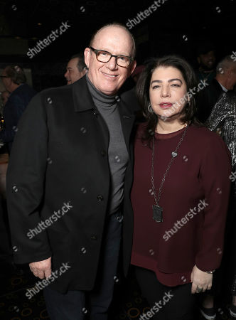 Steve Barnett and Michele Anthony