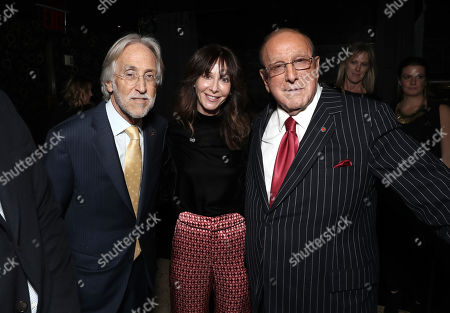 Neil Portnow, Chairman and CEO of Universal Music Publishing Group Jody Gerson and Clive Davis