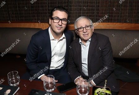 President at Billboard & The Hollywood Reporter John Amato and Irving Azoff