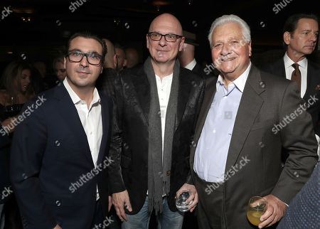 President at Billboard & The Hollywood Reporter John Amato, Robert Kondrk and Martin Bandier