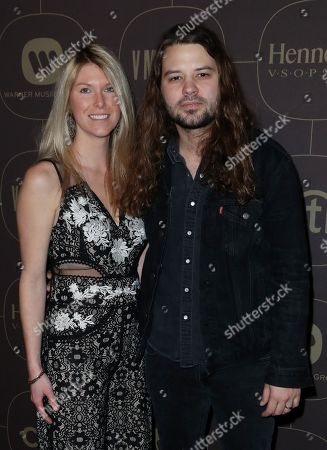 Brent Cobb and wife
