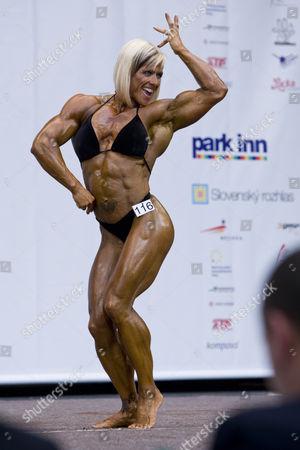 Bodybuilder Margaret Sharon Madderson of Great Britain