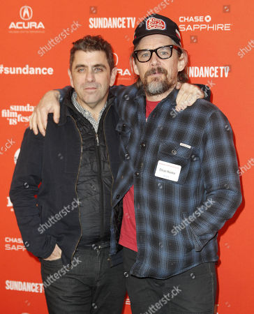 Stock Picture of Eugene Jarecki and Ethan Hawke