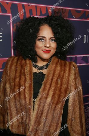 Stock Photo of Singer Marsha Ambrosius attends the ninth annual Essence Black Women in Music event at the Highline Ballroom, in New York