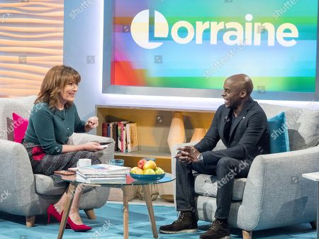 Lorraine Kelly and Trevor Nelson