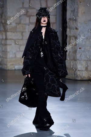 Editorial image of Hyun Mi Nielsen show, Runway, Spring Summer 2018, Haute Couture Fashion Week, Paris, France - 25 Jan 2018