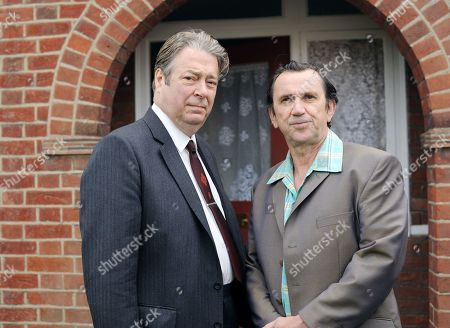 Roger Allam as DCI Fred Thursday and Phil Daniels as Charlie Thursday