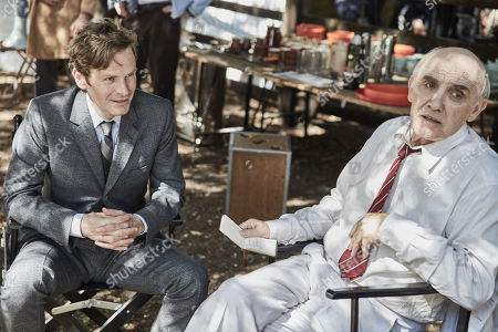 Shaun Evans as DS Endeavour Morse and Donald Sumpter as Emil Valdemar