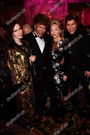 Guest, Igor Bogdanoff, Princess Camilla of Bourbon-Two Sicilies, Grichka Bogdanoff