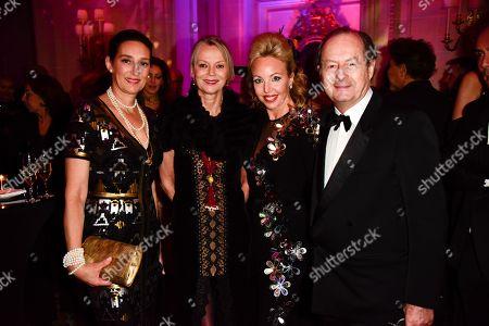 Princess Tania de Bourbon de Parme, Princess Helene de Bourbon de Parme, Princess Camilla of Bourbon-Two Sicilies