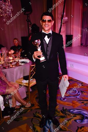 Editorial picture of The Best Awards Gala, Paris, France - 26 Jan 2018