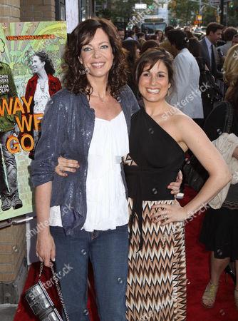 Allison Janney and Stephanie Block