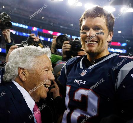 de22b95bd5 Foto stock (esclusive) a tema New England Patriots owner Bob Kraft ...
