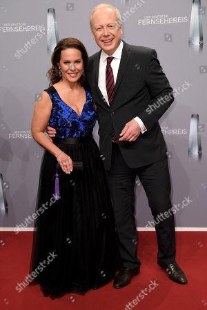 Tom Buhrow and Daniela Boff