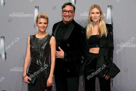 Ella Endlich, Mousse T and Carolin Niemczyk