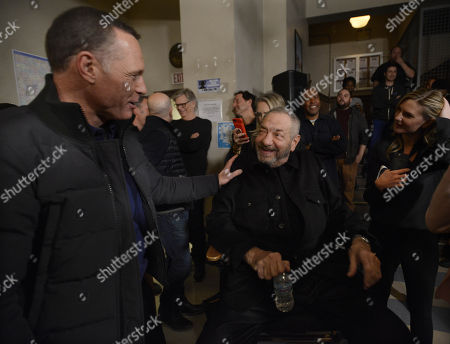 Jason Beghe and Dick Wolf