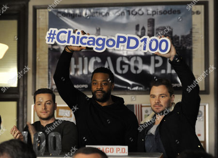 Editorial picture of 'Chicago P.D.' 100th Episode Celebration, Chicago, USA - 26 Jan 2018