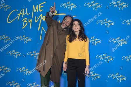 Esther Garrel and Luca Guadagnino