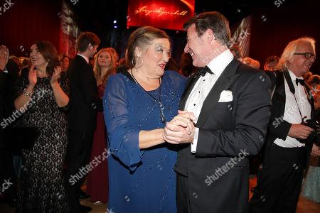 Marianne Saegebrecht and Patrick Lindner
