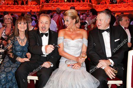 Wolfgang Stumph mit Ehefrau Christine and Franziska van Almsick mit Ehemann Juergen B. Harder
