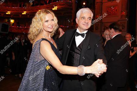 Veronica Ferres and Hans-Joachim Frey