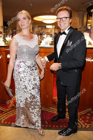Wolfgang Lippert mit Ehefrau Gesine